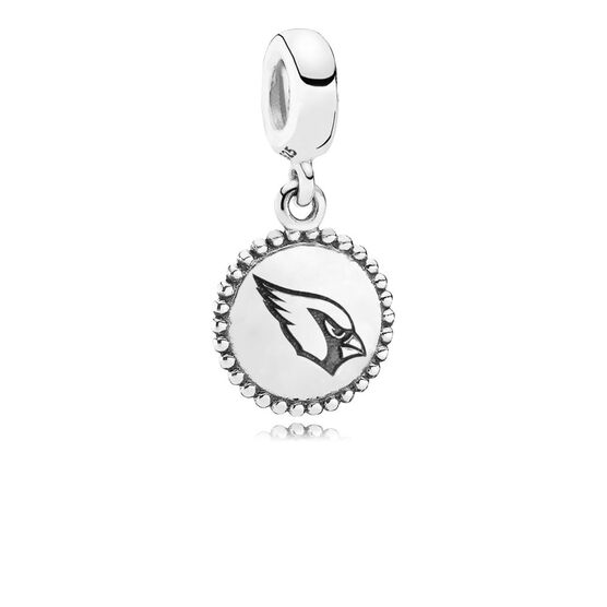 PANDORA Arizona Cardinals Charm