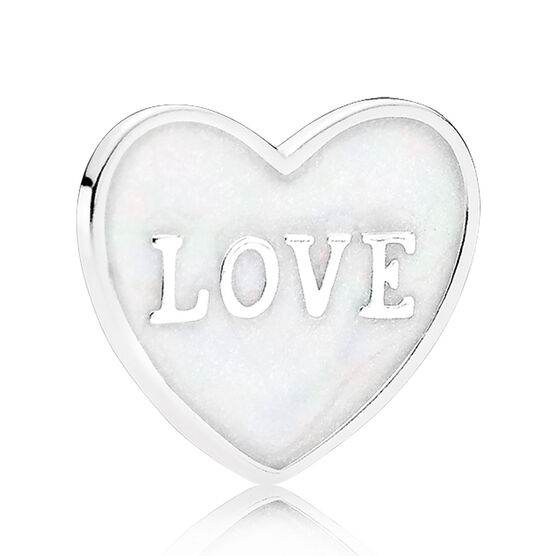 PANDORA Love Heart Plate, Small