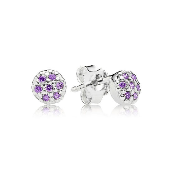 PANDORA Purple Stud Earrings