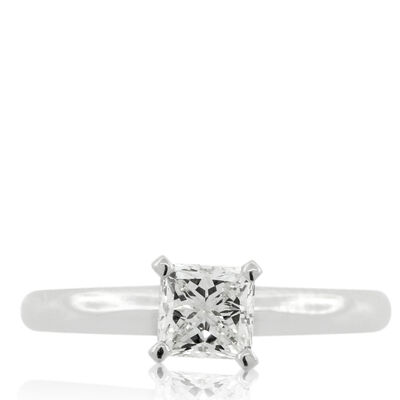 Ikuma Canadian Diamond Princess Cut Ring 14K, 3/4 ct.