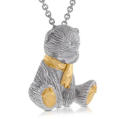 2013 Benny Bear Pendant in Sterling Silver