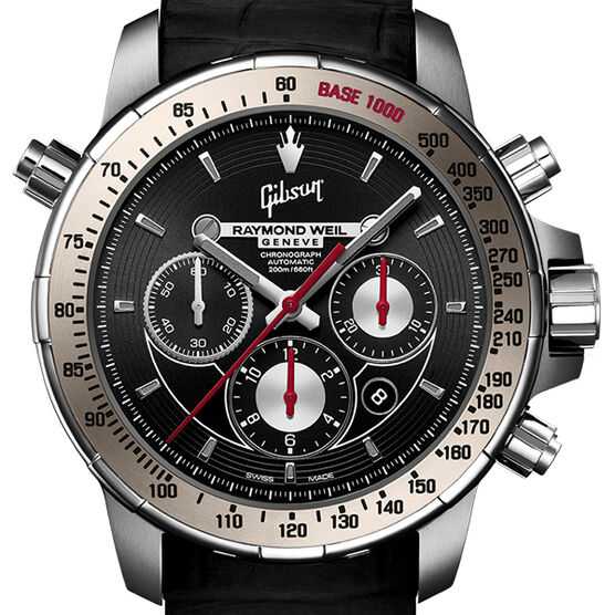 Raymond Weil Nabucco LIMITED EDITION Gibson Chronograph Automatic Watch 46mm