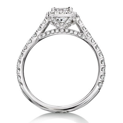 Ikuma Canadian Princess Cut Diamond Ring 14K