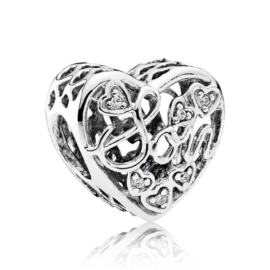 PANDORA Mother & Son Bond CZ Charm