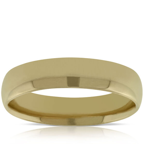Men's 5mm Wedding Band 14K