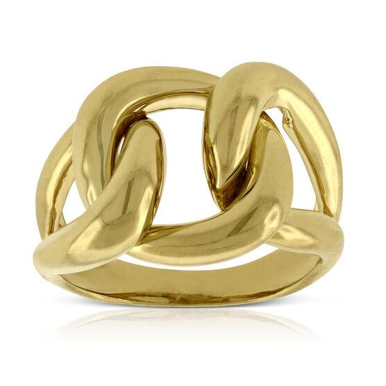 Toscano Buckle Ring 14K