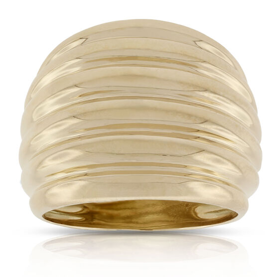 Toscano Fluted Ring 18K