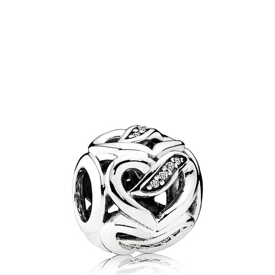 PANDORA Ribbons of Love CZ Charm
