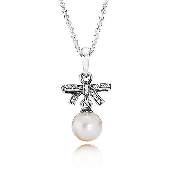 PANDORA Delicate Sentiments Pearl Necklace