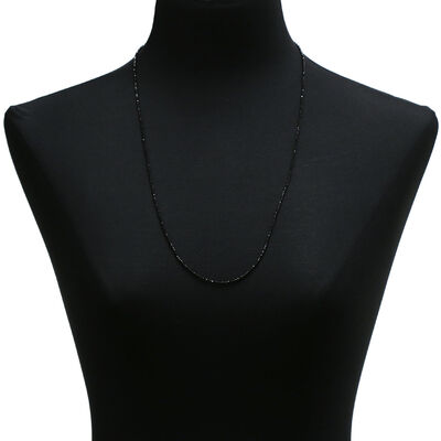 Lisa Bridge Black Spinel Necklace