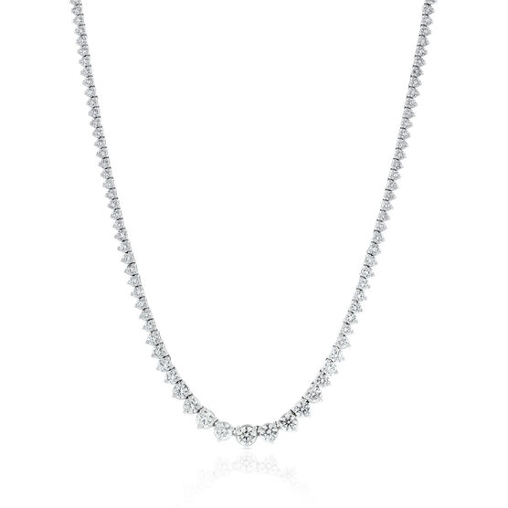 Diamond Riviera Necklace 14K