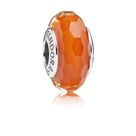 PANDORA Fascinating Orange Charm
