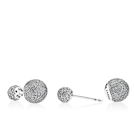 PANDORA Pavé Drops Reversible CZ Earrings