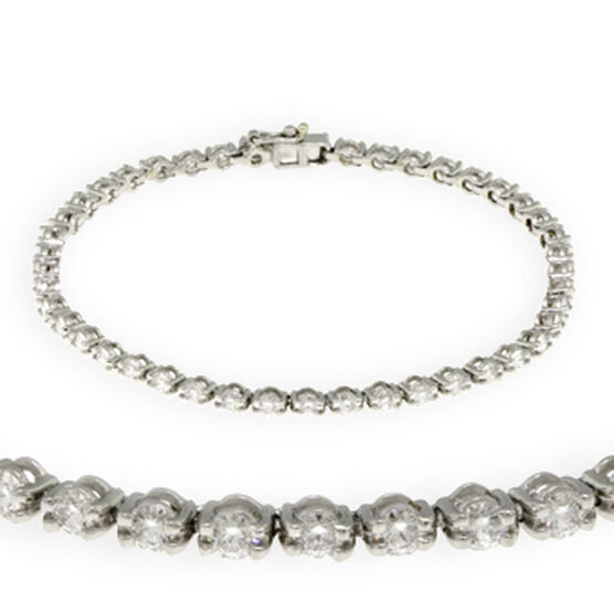 Ben Bridge Signature Diamond™ Bracelet in Platinum