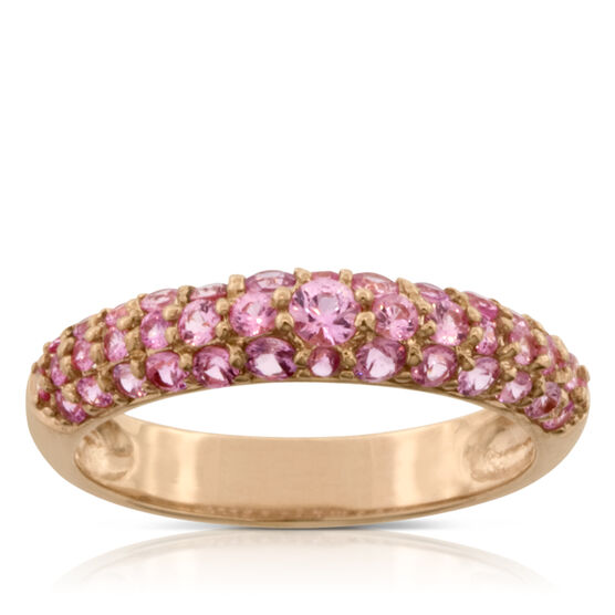Pink Sapphire Ring 14K