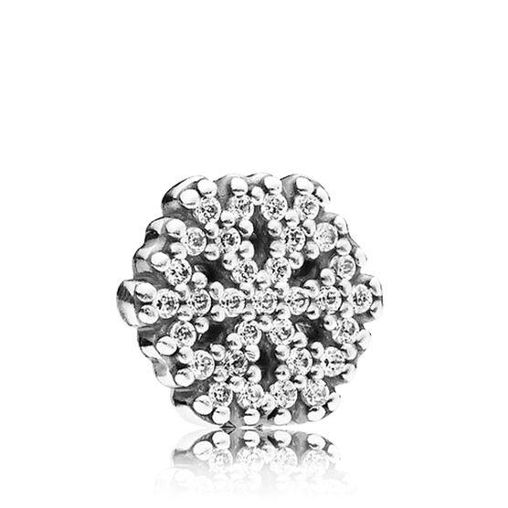 PANDORA Petite Element CZ Snowflake Charm