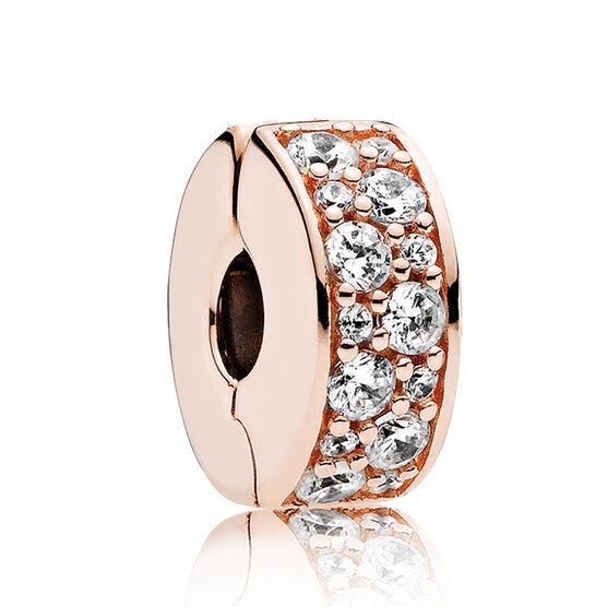 Shining Elegance, PANDORA Rose™ CZ Clip