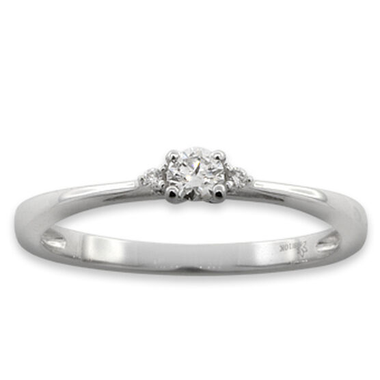 Diamond Promise Ring 10K