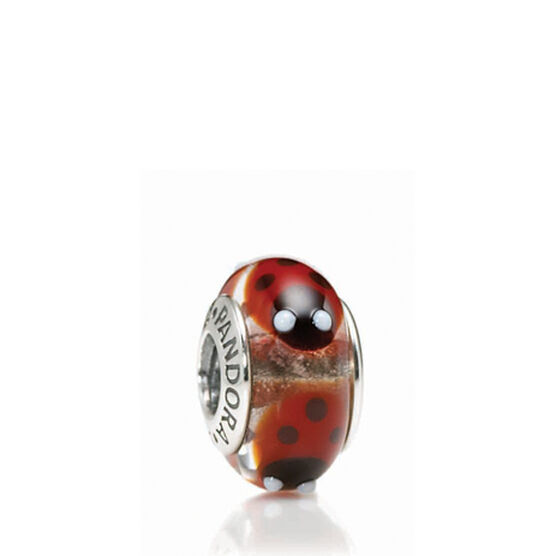 PANDORA Red Ladybugs Charm RETIRED