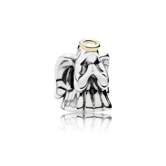PANDORA Divine Angel Charm, Silver & 14K