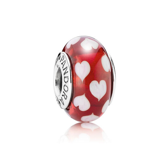 PANDORA Red Sweethearts Charm