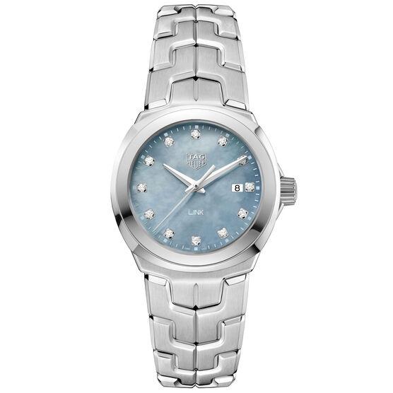 TAG Heuer Link  Diamond Dial Quartz Watch, 32mm
