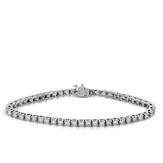 Diamond Tennis Bracelet, 14K, 5 ctw.