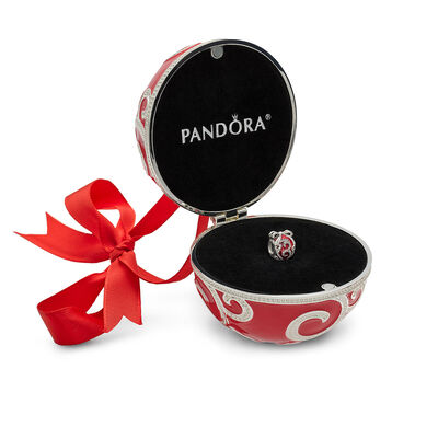 PANDORA Limited Edition Bright Ornament Enamel & CZ Charm