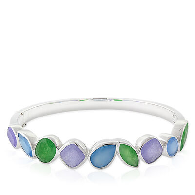 Lisa Bridge Rio Gemstone Bangle Bracelet