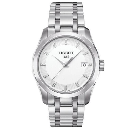 Tissot Couturier Diamond Watch