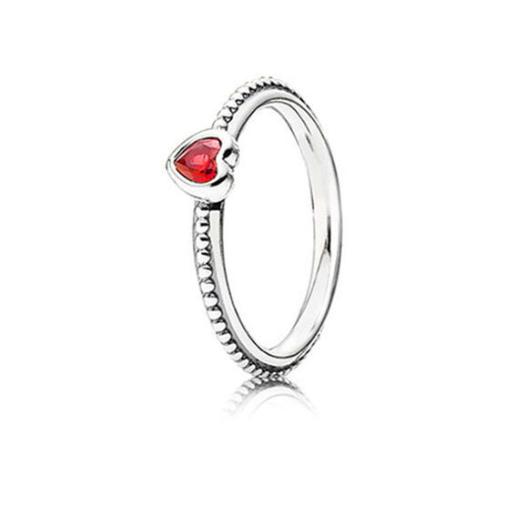 PANDORA ONE LOVE SCARLET RING