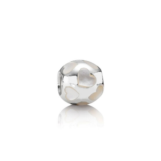 PANDORA Love Me Mother-of-Pearl Charm