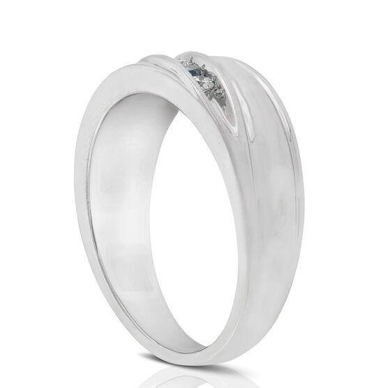 Blue Diamond Ring 14K