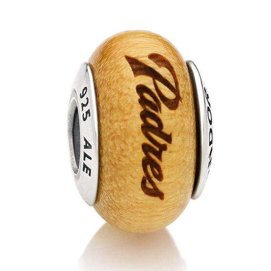 PANDORA Padres MLB Wood Charm