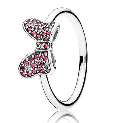 PANDORA DISNEY MINNIE'S SPARKLING BOW RING