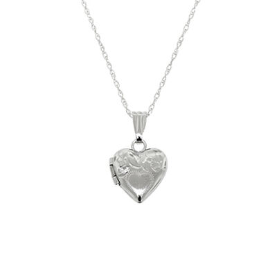Baby Heart Locket 14K