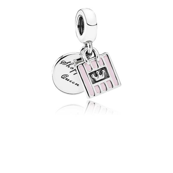 Pandora Shopping Queen Enamel Charm