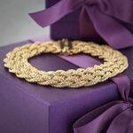 Toscano Woven Bracelet 18K