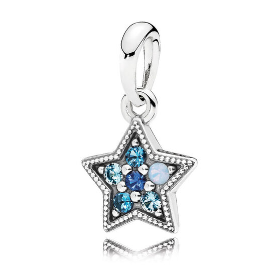 PANDORA Bright Star Pendant Charm