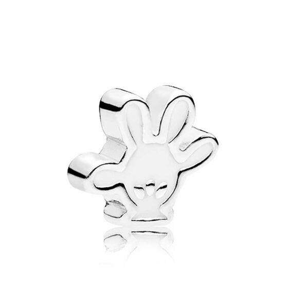 PANDORA Disney, Mickey Glove Enamel Petite Charm