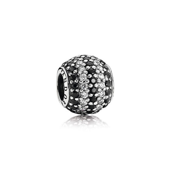 PANDORA Black Nautical Pavé Lights Charm