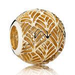 PANDORA Gold Tropicana Charm 14K