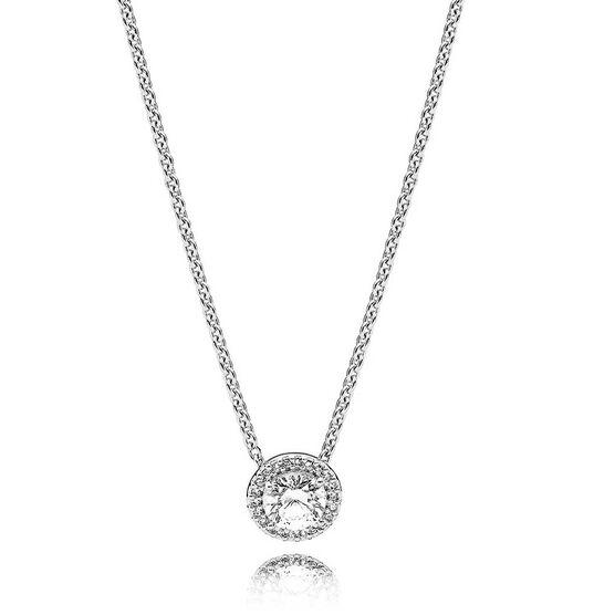 PANDORA Classic Elegance CZ Necklace