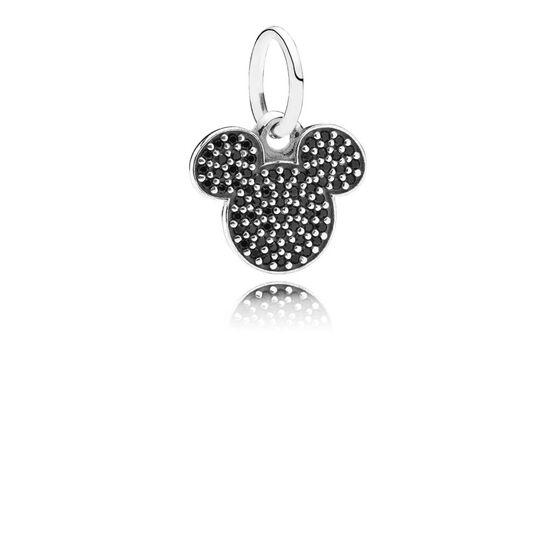 PANDORA Disney Sparkling Mickey Icon Charm