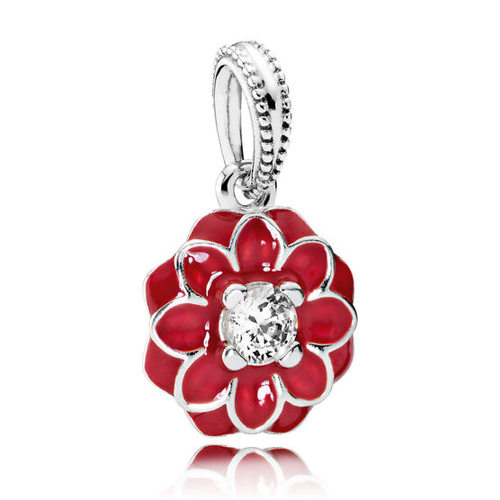 PANDORA Oriental Bloom Dangle Charm