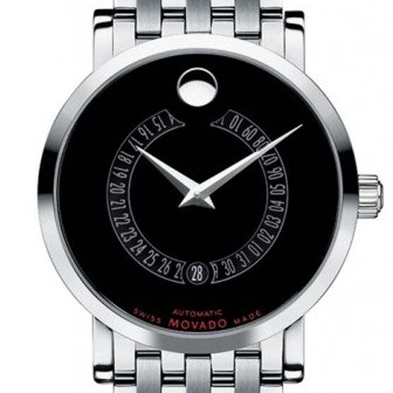 Movado Red Label Calendomatic Automatic Watch