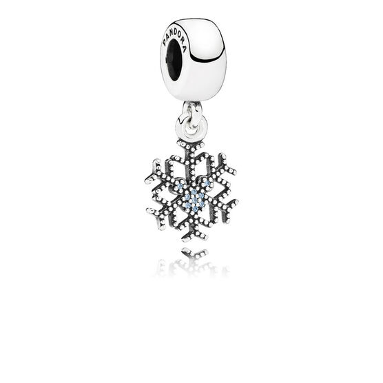 PANDORA Disney Mickey's Sparkling Snowflake Charm