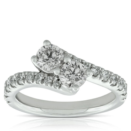 Perfectly Paired Diamond Ring, 14K, 1.45 ctw.