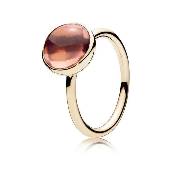 PANDORA Poetic Droplet Ring 14K