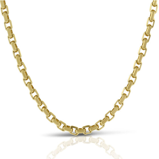 Toscano Collection Rolo Chain 14K, 24""